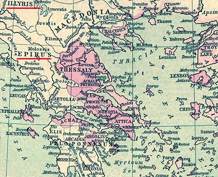 Illyria and Epirus, Ancient Greece
