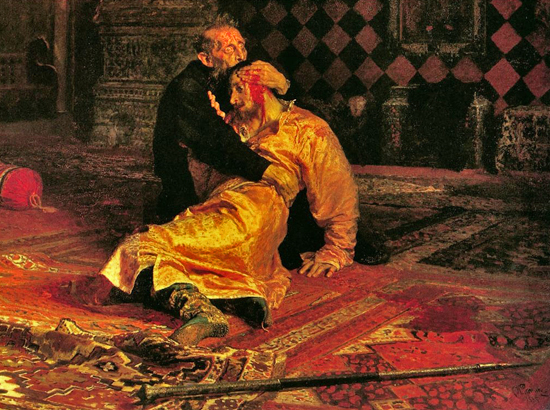IVAN THE TERRIBLE AND HIS SON IVAN ON NOVEMBER 16, 1581