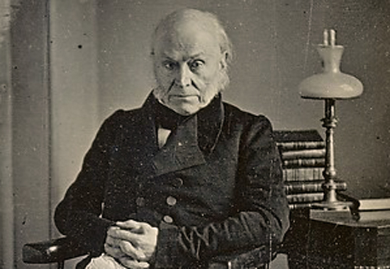 Old Man Eloquent: John Quincy Adams ca. 1843