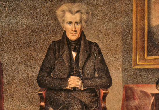 andrew jackson inaugural address