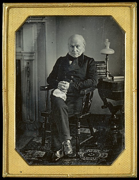 John Quincy Adams ca. 1843