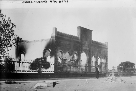 Juarez - Library after battle