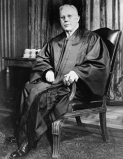 Chief Justice of the Supreme Court Earl Warren