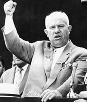 nikita sergeyevich kruschev essay Kennedy and khrushchev essay 2085 words | 9 pages than john fitzgerald kennedy and nikita sergeyevich khrushchev one was the son of an american millionaire, born.