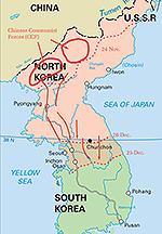 Timeline of the Korean War - 1950