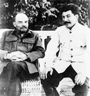 LENIN AND STALIN AROUND 1922