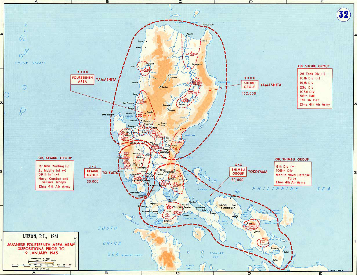 Map of WWII: Luzon 1945 Map Of Us Against Japan Ww on map of japan military, map of japan animation, japanese territory in ww2, japan flag ww2, map of japan christmas, map of japan art, map of japan school, map of japan modern, map of japan japanese, map of japan russia, map of japan 1950s, map of japan 1940s, map of japan korea, map of japan world war 2, map of japan history, map of japan food, map of japan china, map of japan religion, map of japan pokemon, extent of japanese empire in ww2,