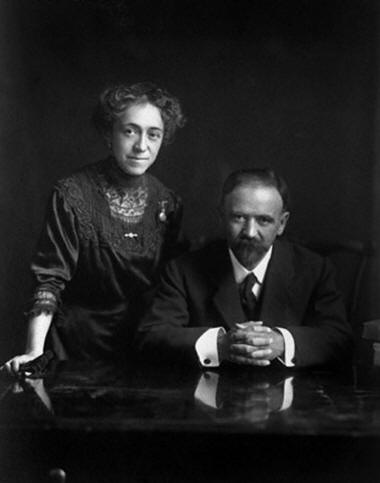 FRANCISCO I. MADERO AND HIS WIFE SARA PEREZ