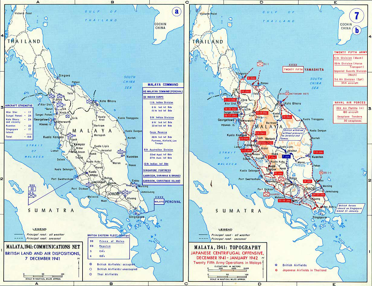 japanese occupation in malaya The japanese invasion of malaya donald hudden, lost his life during the japanese occupation borneo was a prime target for japan, and a very poorly guarded one.