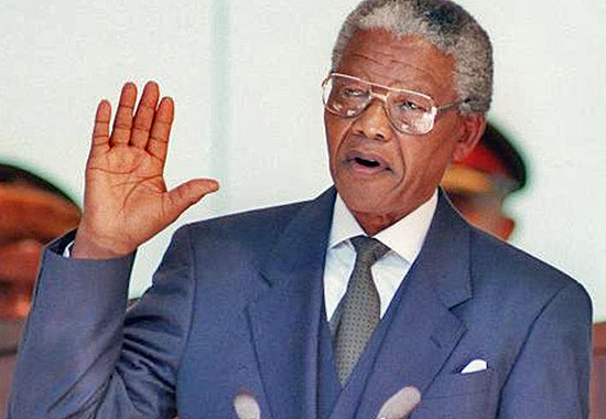 WRITING SOUTH AFRICAN HISTORY - MANDELA'S OATH OF OFFICE