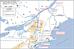 Map of the American Revolution: Campaigns 1775-1776