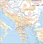 1941, April WWII - The Balkans 1941: Invasion of Yugoslavia and Greece