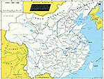 Map of China 1920 - 1950.