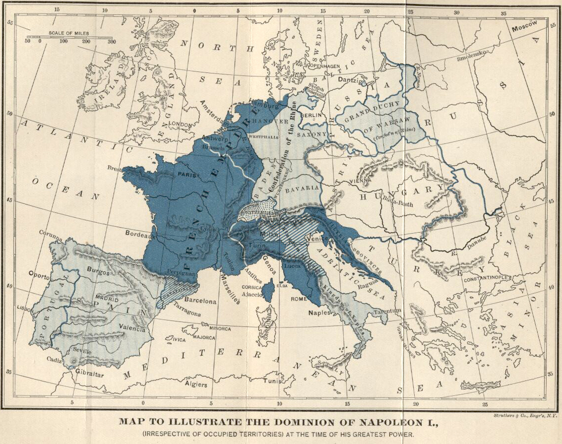 the defeat of napoleon and evolution in european region structure Europe & africa in the 19th century a handful of european nations conquered most of africa which was fought in the black sea region from 1853 to 1856.