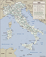 Map of Italy 2006