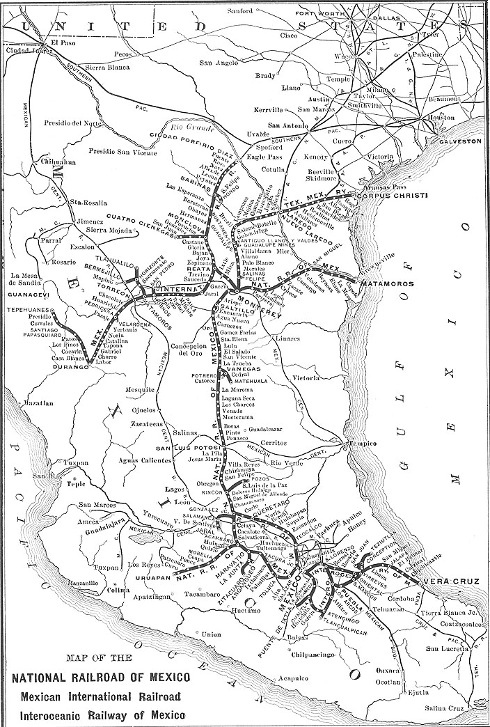 of Mexicos Railway System 1910 1920