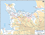 Normandy Invasion: July 1-24, 1944. Expanding the Beachhead.