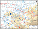 Normandy Invasion. Saint-Lô (St. Lo) and Vicinity. Operation Cobra, July 25-29, 1944.
