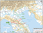 WWII Northern Italy June 5 - December 31, 1944