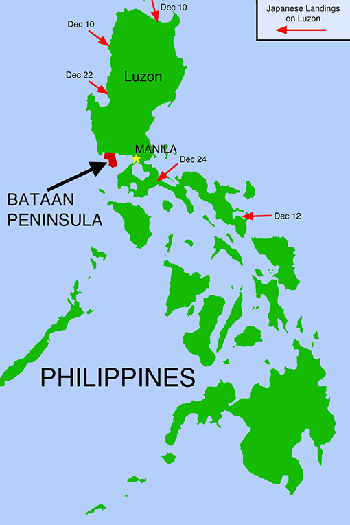 Map of bataan philippines   CitiesTips.com