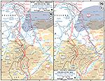 Map of World War II: The Rhineland Campaign February 8 - March 10, 1945