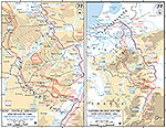 Map of World War II: The Rhineland Campaign March 11-21, 1945. Summary of the Rhineland Campaign.