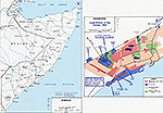 History Map of Somalia, Mogadishu, October 1993.