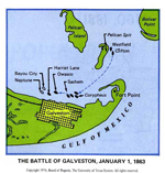 Battle of Galveston - January 1, 1863