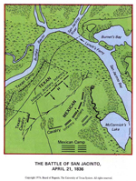 Battle of San Jacinto - April 21, 1836