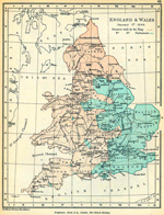 England and Wales January 1, 1644