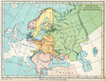 Europe - Illustrating Wars of Charles XII & Peter the Great