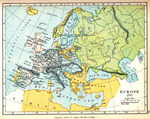 Europe in 1810