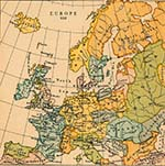 Map of Europe 912