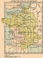 France After the Treaty of Bretigni, 1360