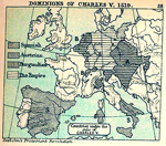 Dominions of Charles V, 1519