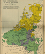 Map of the Netherlands 1568
