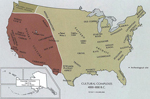 Area of today's United States 4000 - 1000 B.C.