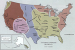 Area of today's United States 500 - 1300 A.D.