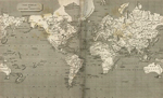 World Map 1820