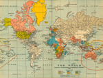 World Map 1910