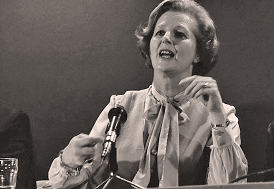 MARGARET THATCHER SPEAKING - 1979
