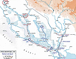 Map of Mesopotamia January-July 1915