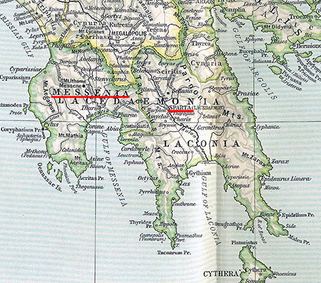 Messenia and Sparta, Ancient Greece