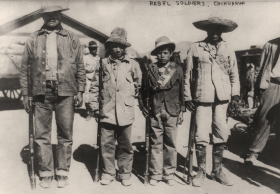 Rebel Soldiers, Chihuahua - The Mexican Revolution