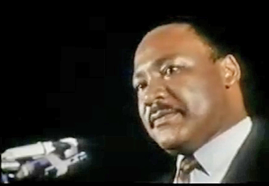 I'VE BEEN TO THE MOUNTAINTOP - MARTIN LUTHER KING JR 1968