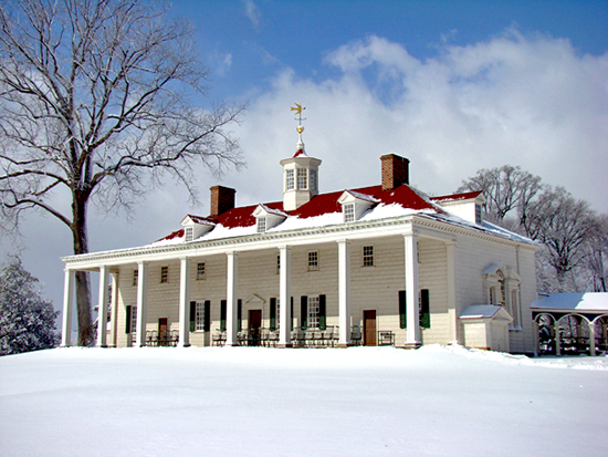 Mount Vernon Mansion, East Lawn