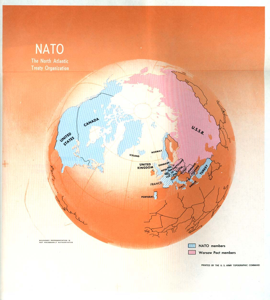 Map of the nato members 1970 nato 1970 map gumiabroncs Choice Image