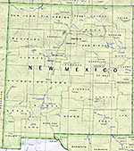 1990 New Mexico Counties