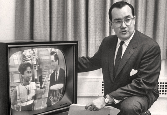 """WHEN TELEVISION IS BAD, NOTHING IS WORSE."" - NEWTON MINOW 1961"
