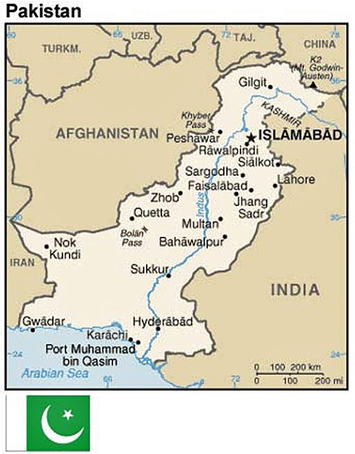 Good Map Of Pakistan